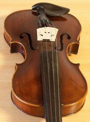 "Very old labelled Vintage violin ""Antonius Sgarbi Domo"" fiddle 小提琴 ヴァイオリン Geige"