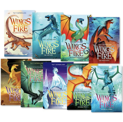 [E-edition] Wings of Fire 1-12 Books Set By Tui T. Sutherland