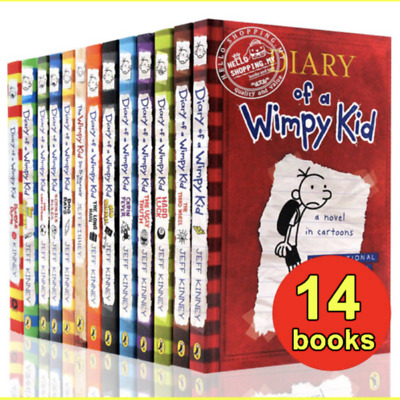 [E-edition] Diary Of A Wimpy Kid Collection 🔥 14 Books 🔥 Set By Jeff Kinney