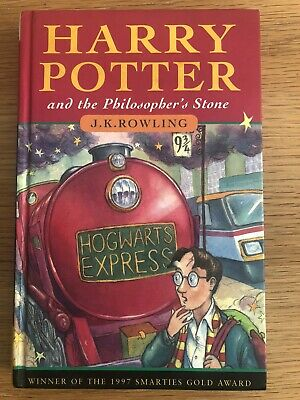 Harry Potter and The Philosopher's Stone Hardback 1st Edition 8th - VG +