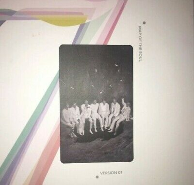Bts map of the soul 7 RARE official group photocard