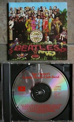 THE BEATLES 1987 US CD Sgt. Pepper's Lonely Hearts Club Band. Capitol /Parlophon