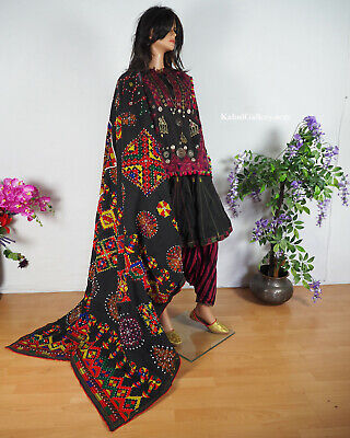 antique Pakistan Afghanistan nuristan swat Woman embroidered Dress jumlo No:20/A