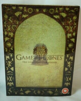 Game of Thrones - The Complete Season 5 box set UK DVD hbo
