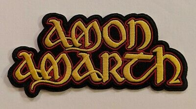 Amon Amarth Embroidered Iron-on Melodic Viking Death Metal Band Patch