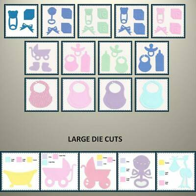Creative Memories BABY THEME DIE CUTS - VARIETY TO CHOOSE - UP TO 30% OFF!!!