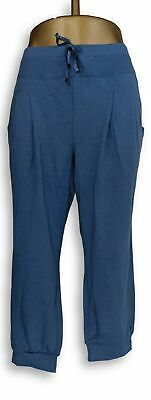 Anybody Women's Petite Pants LP Light French Terry Blue A306962