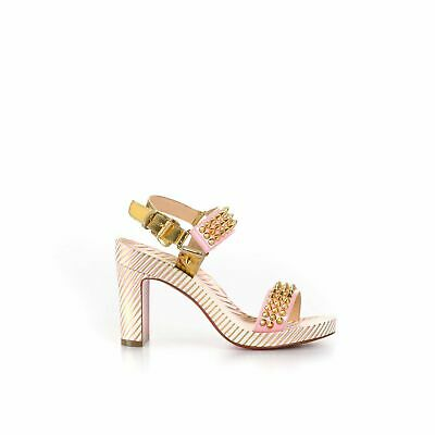 Spikes Leather Sandals
