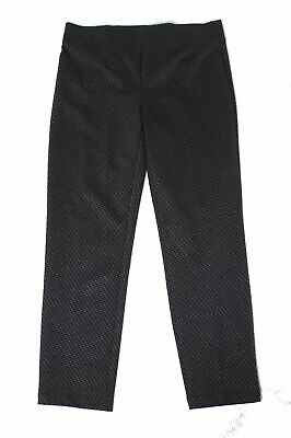 Emaline Womens Pants Black Size 12 Pull On Printed Mid-Rise Stretch $54 668