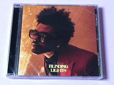 **The Weeknd Blinding Lights Cd Single 2020 Collectors Cd - Mint Condition**