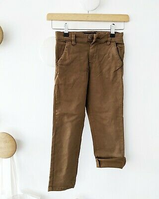 Next Brown Trousers Boys 5 Years New
