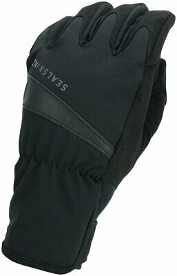 SealSkinz Waterproof All Weather Cycle Gloves Black Full Finger Small
