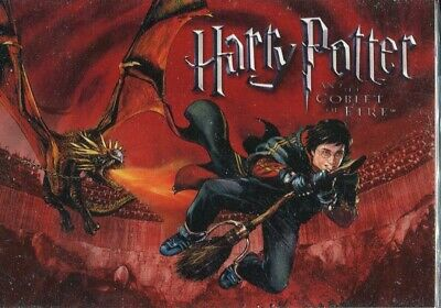 Harry Potter And The Goblet Of Fire Complete Trading Card Base Set UK Exclusive
