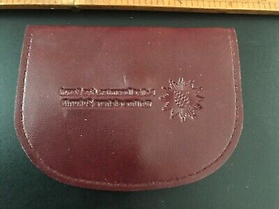 Extremely  Rare Germany - Bavarian Police Issue Leather Coin Wallet/Purse
