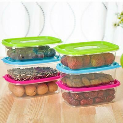 52pc Food Containers Set with Lids Freezer Microwave BPA Free Plastic Box Storag