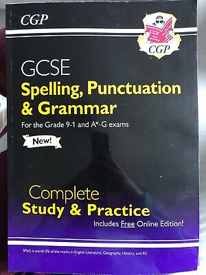 Spelling, Punctuation and Grammar for GCSE, Complete Revision & ... by CGP Books