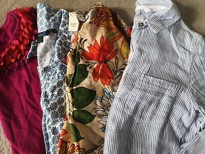 Ladies Womens Spring Summer Bundle of tops Size 10 Boden monsoon fat face