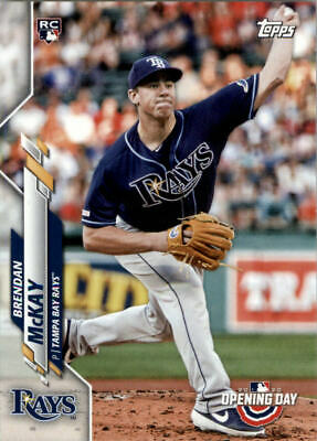 2020 Topps Opening Day Baseball Part 1 Main Set Cards #1 to #200 RC's and Vets