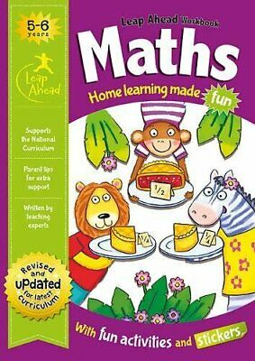 Leap Ahead Workbook __ Maths 5-6 Years __ Brand New __ Freepost Uk