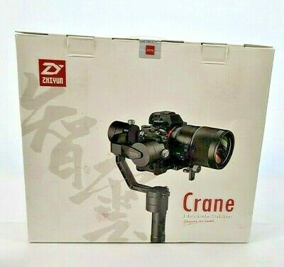 Zhiyun Crane V2 3-Axis Handheld Gimbal Stabilizer Black Sealed