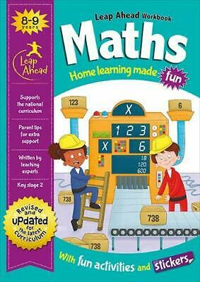 KS2 Maths Leap Ahead Home Learning Workbook Ages 8-9 New Year 4