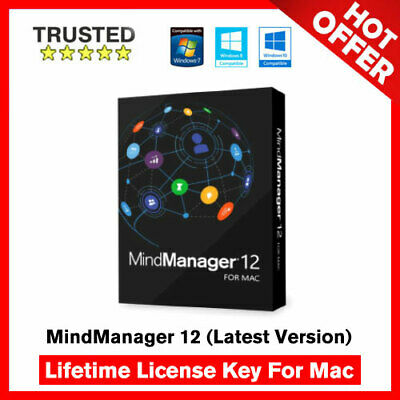 Mindjet MindManager 12 For Mac 🔐 Lifetime Activation Key ✅ Fast Delivery