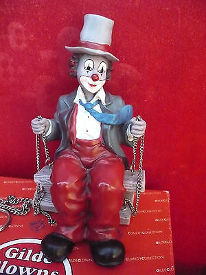 schöne Figur__Clown am Seil__gemarkt: S.Chantal 93___32cm_