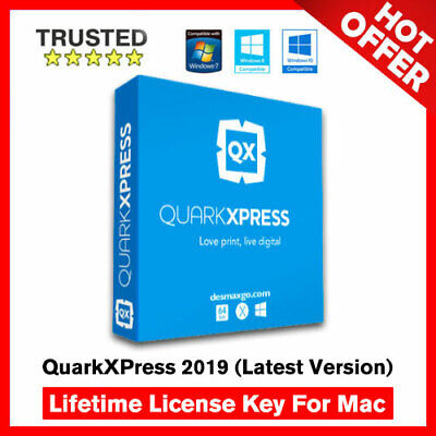 QuarkXPress 2019 For Mac 🔐 Lifetime Activation Key ✅ Fast