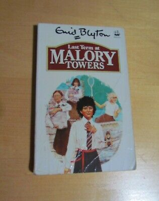 Vintage ENID BLYTON Paperback LAST TERM AT MALORY TOWERS