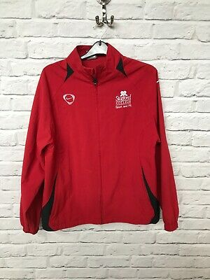 Nike Stafford College Sport & PE red track top size 13-15 years