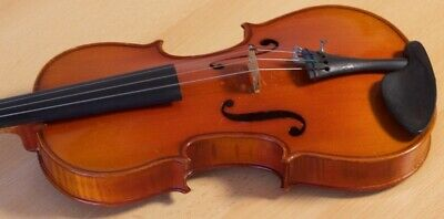 "Very old labelled Vintage small violin ""Leon Mongenot Gauche"" fiddle 小提琴 Geige"