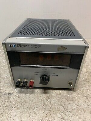Vintage HP Hewlett-Packard 3430A Digital Voltmeter RARE OLD COLLECTIBLE HAM DIY