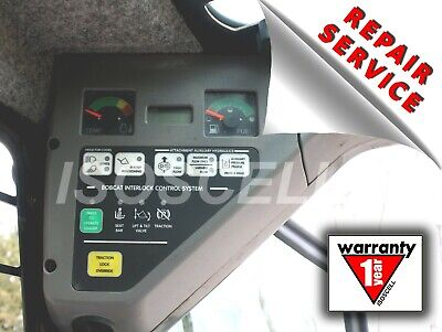 Left instrument panel Bobcat OEM 6689754,  6678680, 6672346 Only Repair