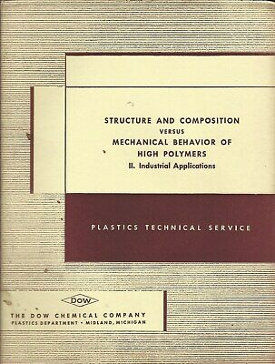 Technical Report - Dow Chemical - High Polymer Industrial Uses - c1952 (ST25)