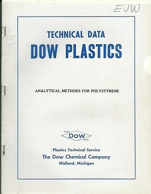 Technical Report - Dow Chemical - Analytical Methods Polystyrene - c1950 (ST27)