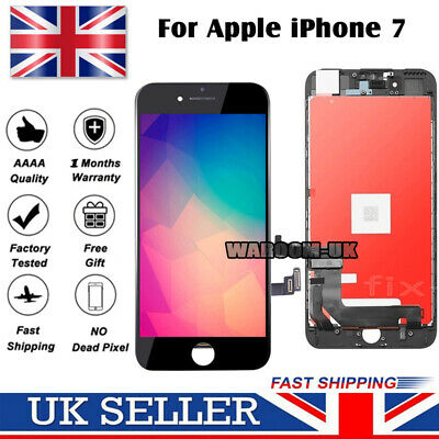 For iPhone 7 Screen Replacement LCD 3D Touch Digitizer Display Assembly Black