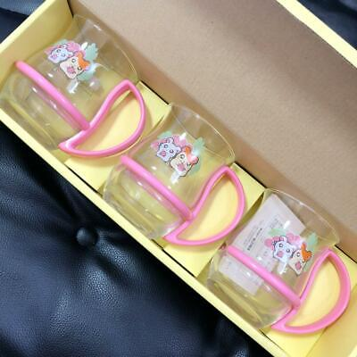 Hamtaro Hamster  Glass set NEW free shipping with tracking Number