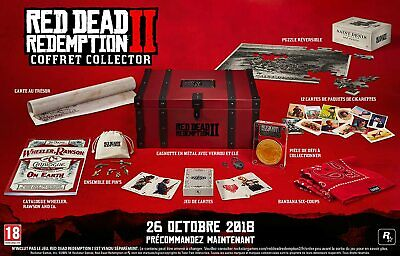 Red Dead Redemption 2 Collector's Edition Box  - PS4 - XBOX ONE - NO GIOCO