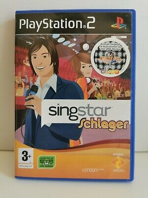 Singstar Schlager-  Playstation 2 - Pal - Ovp
