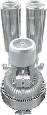 """DOUBLE impeller / SINGLE stage Side Channel Blower - 25kW, 5"""" Connections"""