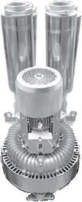 """DOUBLE impeller / SINGLE stage Side Channel Blower - 15kW, 5"""" Connections"""