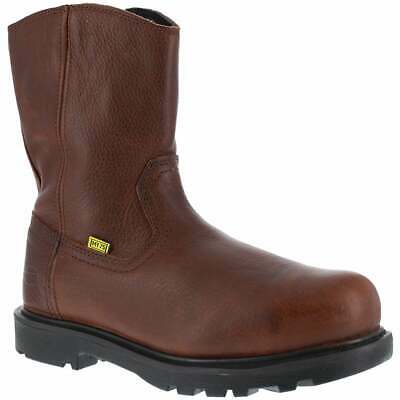 Iron Age Hauler 10in Wellington  Casual   Work & Safety - Brown - Mens