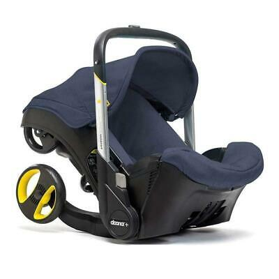 Doona Infant Car Seat Stroller with Base, Marine/Navy Blue NEW