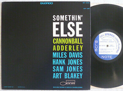 Cannonball Adderley - Somethin Else (1967) LP (NM-) HOLY Rare Blue Note Liberty