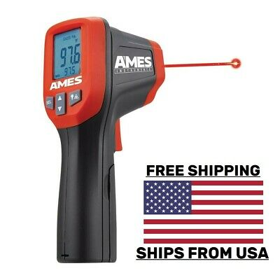 Ames® Temperature Gun Non-Contact Digital Laser Infrared IR Thermometer USA SHIP