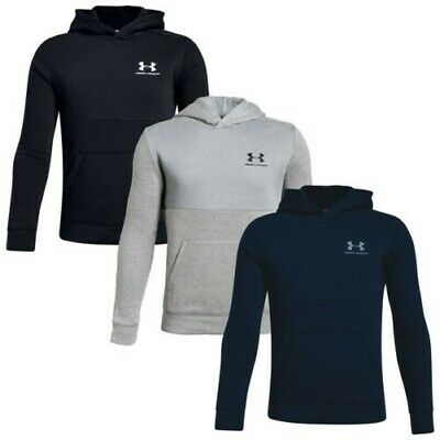 2020 Under Armour Junior Boys Cotton Fleece Pullover Hoodie UA Kids Warm Top
