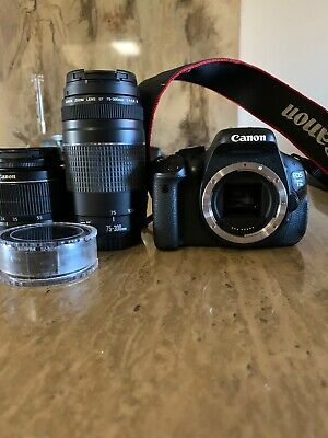 Canon EOS Rebel T3i / EOS 600D 18.0MP Digital SLR Camera - Black (Kit w/ EF-S IS
