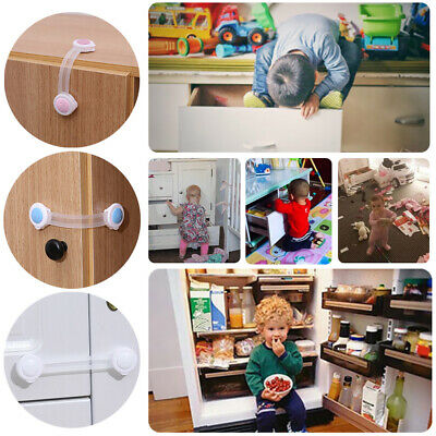 50pcs/Lot Baby Door Cabinet Drawer Safety Locks Infant Cupboard Security Locking