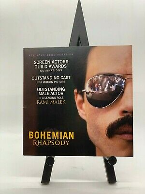 Bohemian Rhapsody 2018 Drama / Biography Dvd For Your Consideration (Fyc)