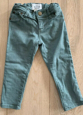 As NEW Girls Toddler COTTON Straight Jeans COUNTRY ROAD KIDS 2 $65 Khaki Bottoms